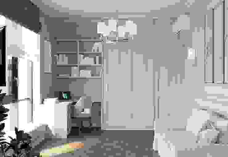 Salas de estilo clásico de 'INTSTYLE' Clásico Madera Acabado en madera