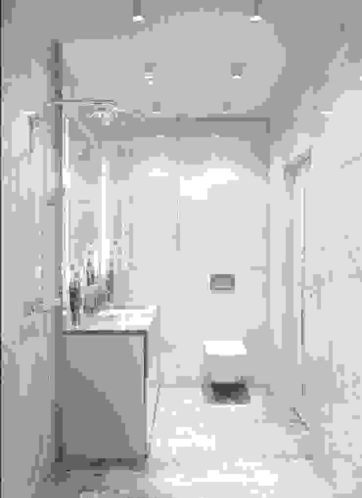Baños de estilo minimalista de 'INTSTYLE' Minimalista Azulejos