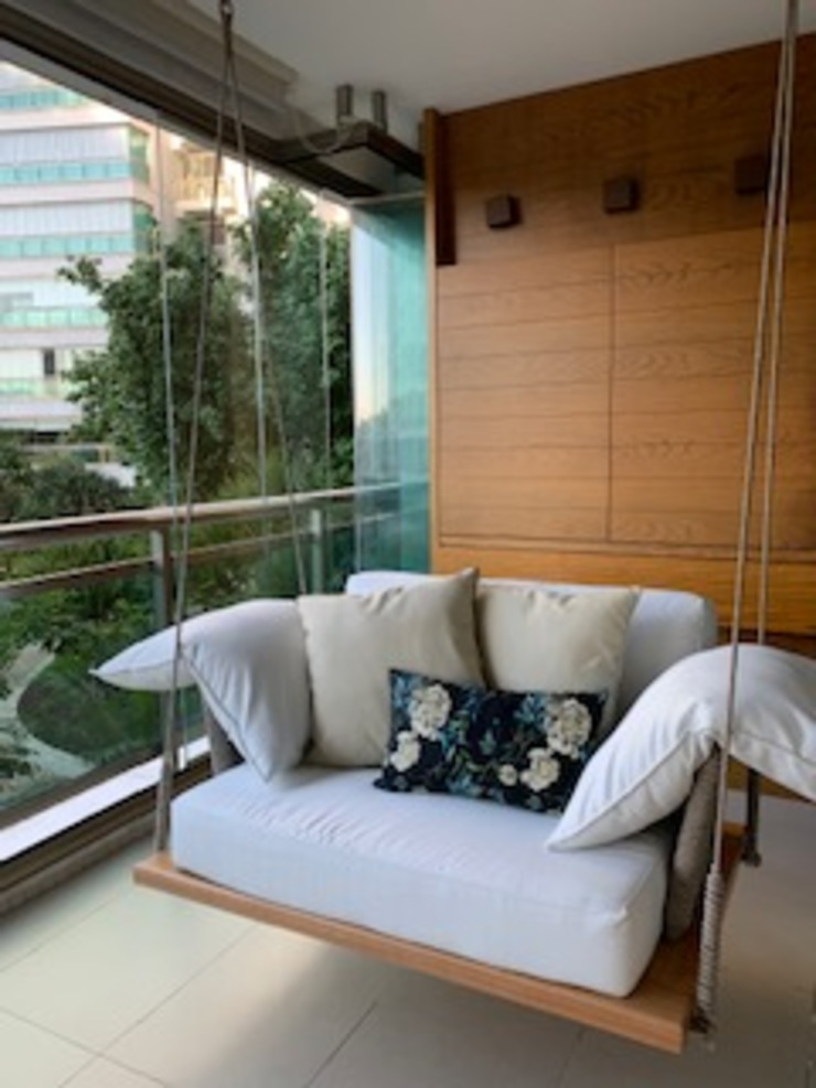 Studio HG Arquitetura Balcony
