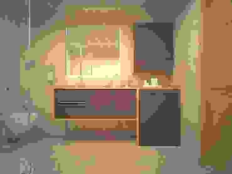 Mekgrup İç Mimari ve Dekorasyon – Banyo Tasarım ve Uygulaması: modern tarz , Modern Ahşap Ahşap rengi