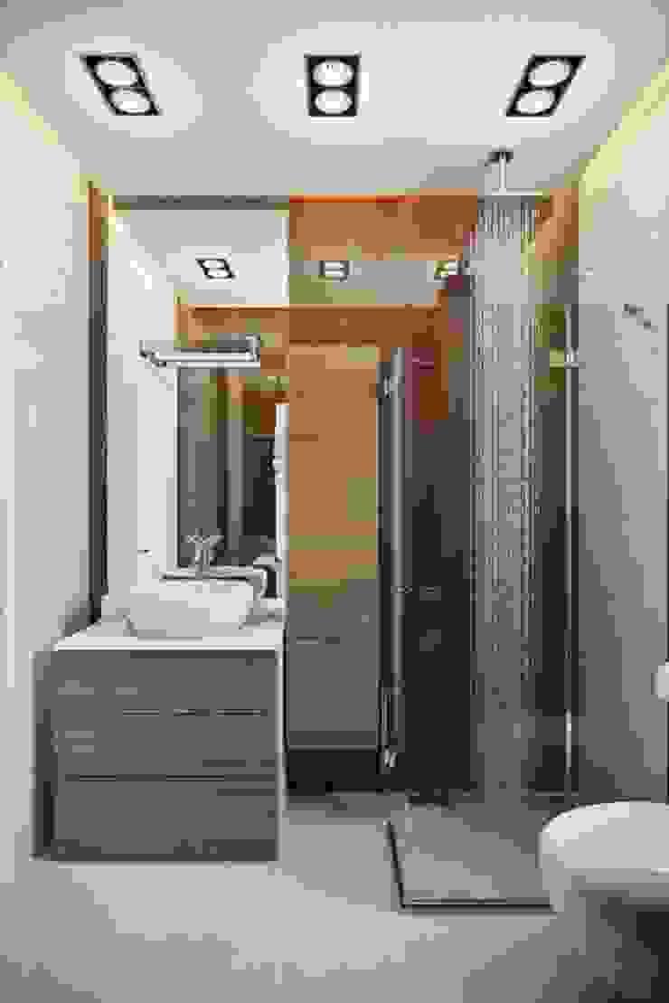 КП «Фаворит» Ванная комната в скандинавском стиле от 'INTSTYLE' Скандинавский Плитка