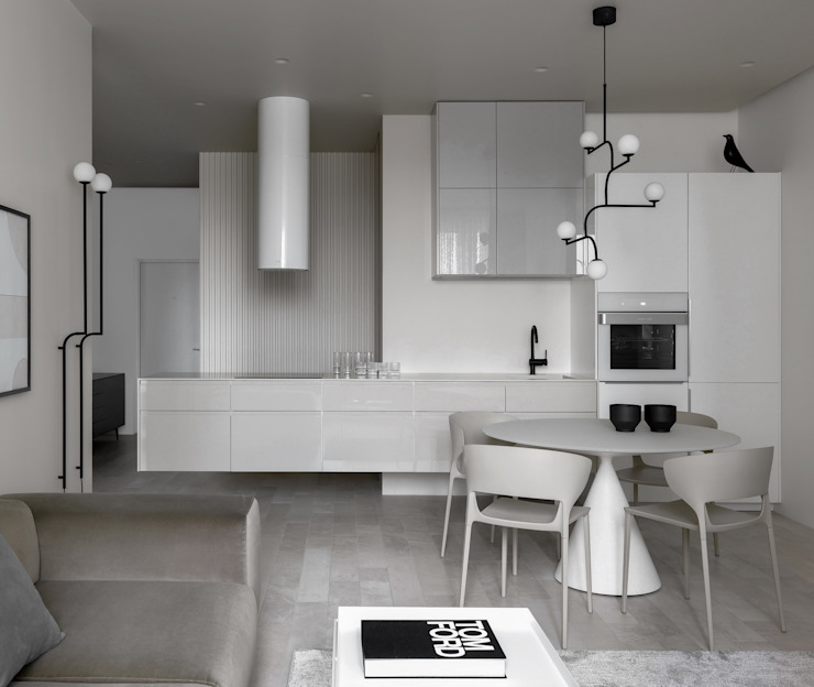 Kitchen units by iPozdnyakov studio, Minimalist