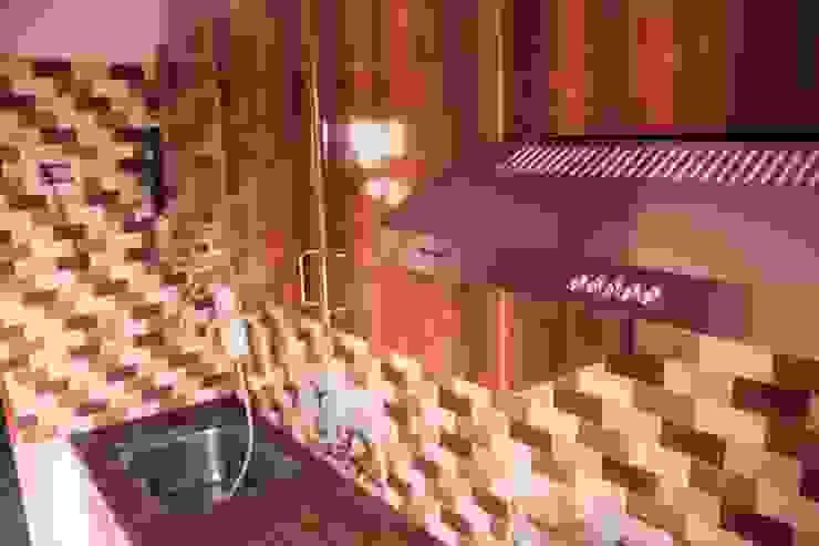 Kitchen Wall unit: modern  by Ajith interiors,Modern Plywood