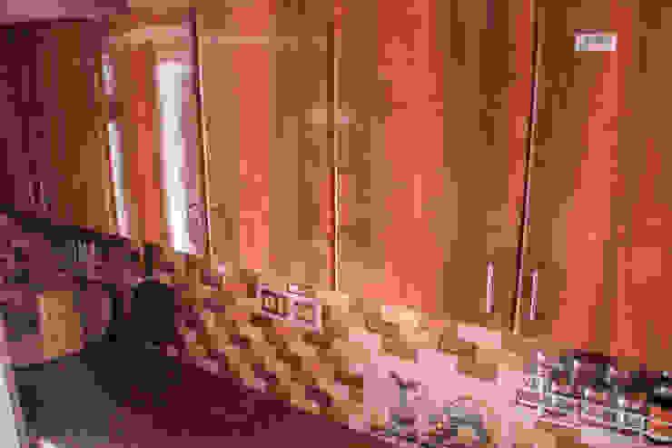 Kitchen storage wall unit: modern  by Ajith interiors,Modern Plywood