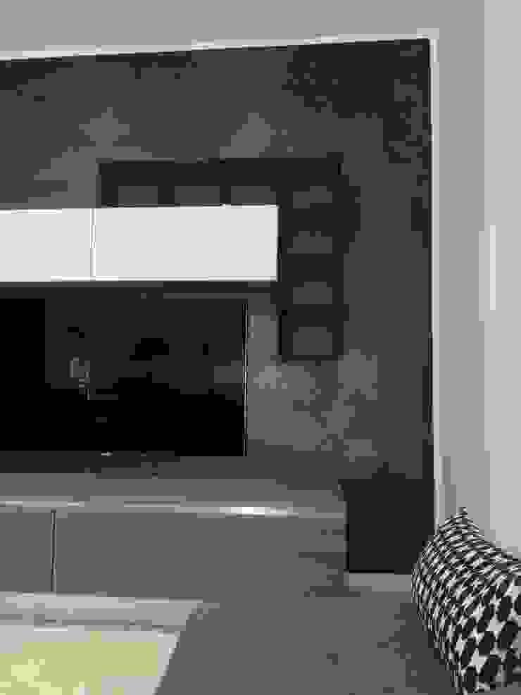 Casa P45 Soggiorno moderno di ArchitetturaTerapia® Moderno PVC