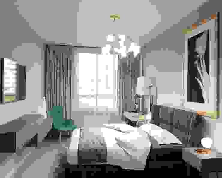 Dormitorios de estilo minimalista de Anastasia Yakovleva design studio Minimalista Madera Acabado en madera
