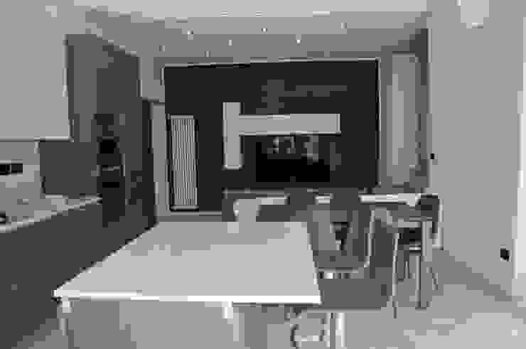 Casa P45 Cucina moderna di ArchitetturaTerapia® Moderno PVC