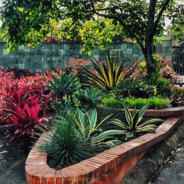 jardin Fábrica Moldes Medellín de Paisajismo trópico sas Tropical