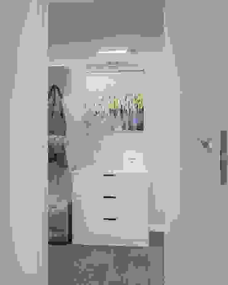 Baños de estilo escandinavo de 'INTSTYLE' Escandinavo Azulejos