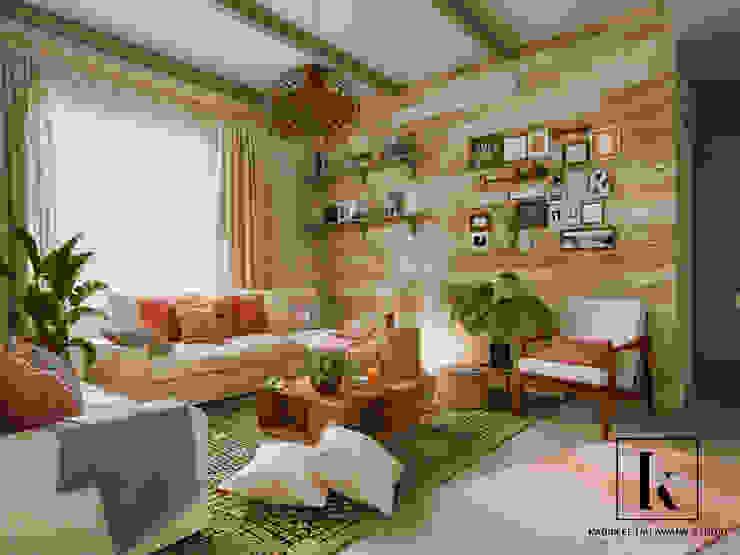 İskandinav Oturma Odası Karim Elhalawany Studio İskandinav