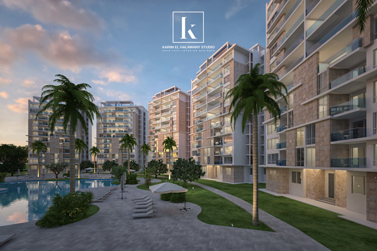 Modern home by Karim Elhalawany Studio Modern