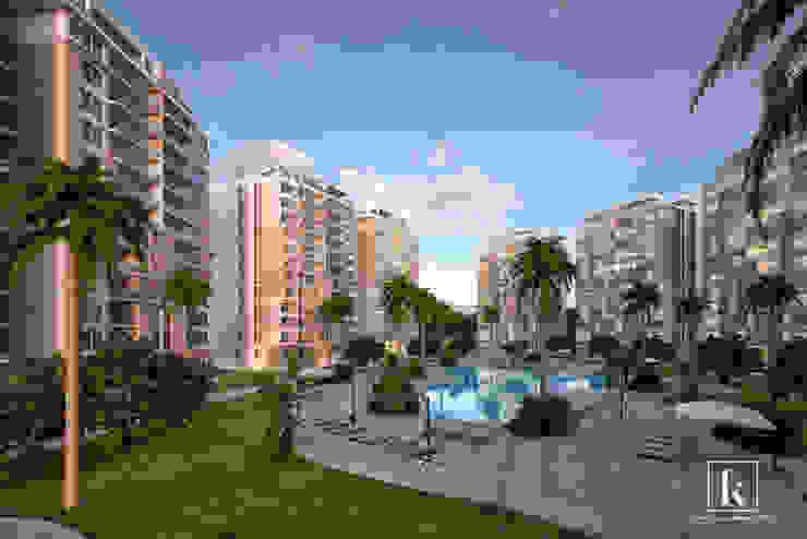 Modern style gardens by Karim Elhalawany Studio Modern