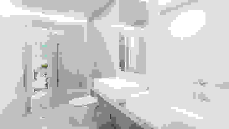 Baño Principal Baños de estilo minimalista de Alexander Congonha Minimalista