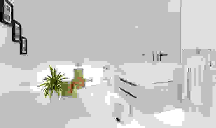 Baño de visitas Baños de estilo minimalista de Alexander Congonha Minimalista