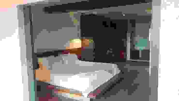 Recámara Dormitorios modernos de HouseBuy de México Moderno Madera Acabado en madera