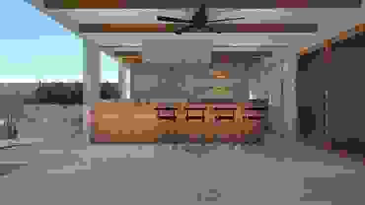 : Comedores de estilo  por  Constructora Sanar spa , Moderno