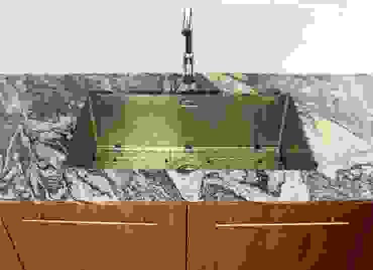 Modern kitchen by Alexander Congonha Modern Engineered Wood Transparent