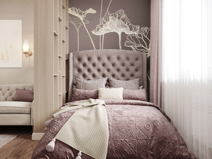 Classic style bedroom by 'INTSTYLE' Classic Wood Wood effect
