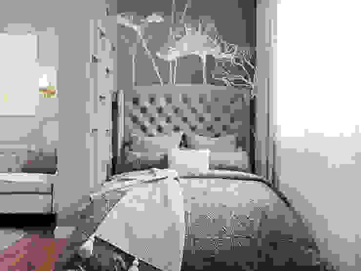 Студия дизайна 'INTSTYLE' Classic style bedroom Wood Beige