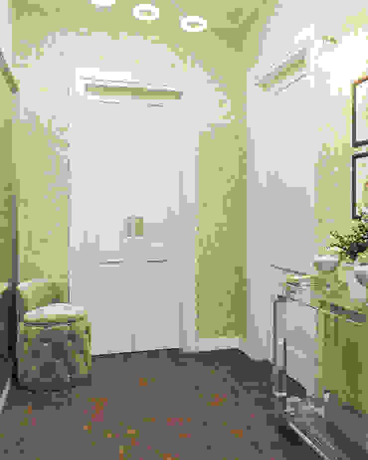 Студия дизайна 'INTSTYLE' Classic style corridor, hallway and stairs Wood Beige