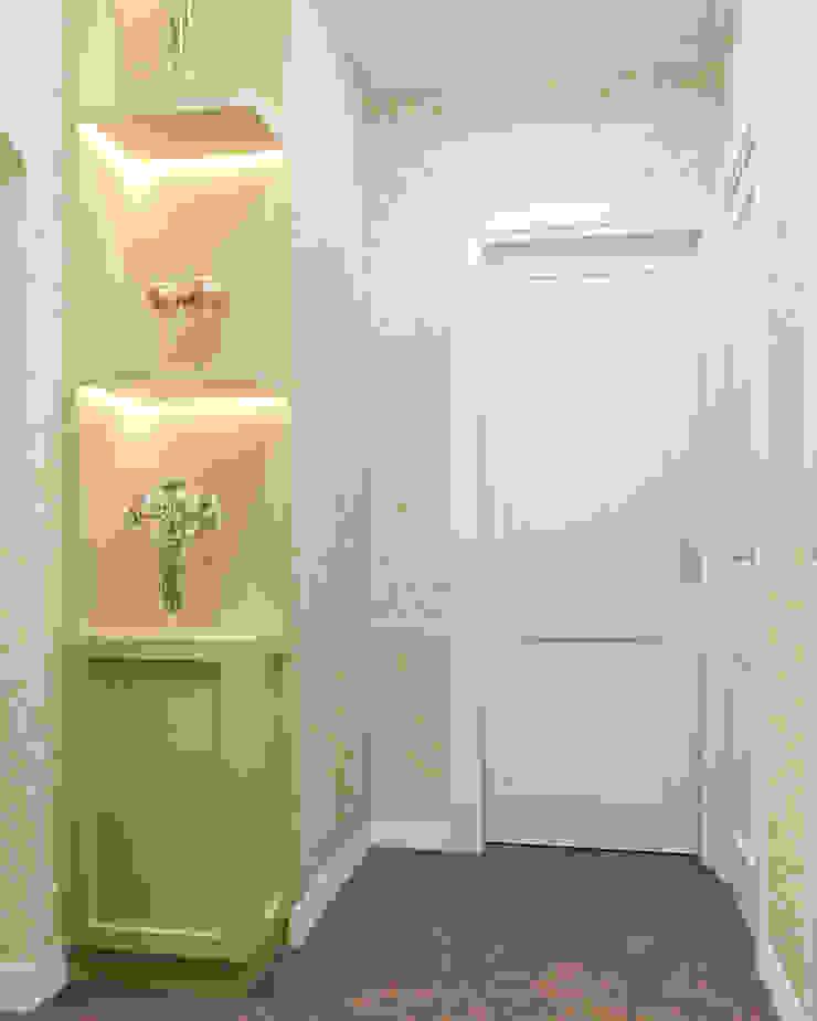 Студия дизайна 'INTSTYLE' Classic corridor, hallway & stairs Wood Beige