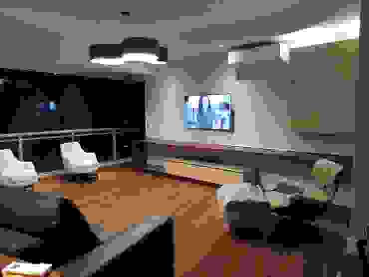 sala de estar - depois por Ana Laura Wolcov - ARTE WOLCOV