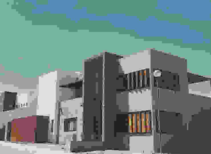 AB arquitectura Single family home Concrete Grey