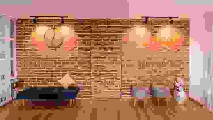 Dream craft studio - Iscon platinum - Ahmedabad - 9033 000 675 Minimalist living room by Dream Craft Studio Minimalist
