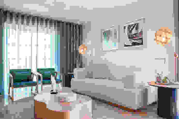Roof Top Formosa Salas de estar mediterrânicas por Victor Guerra.Design Mediterrânico