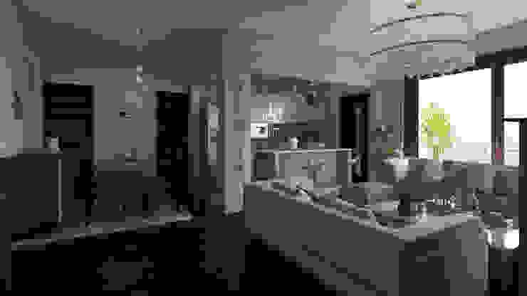 Moderne Wohnzimmer von Arkiline Arquitectura Optativa Modern Holzspanplatte
