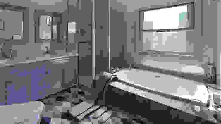 Moderne Badezimmer von Arkiline Arquitectura Optativa Modern Holzspanplatte