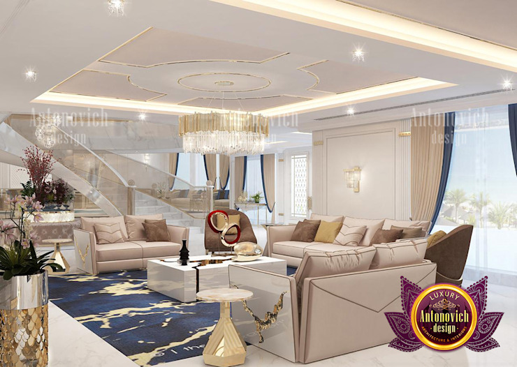 Extravagant Lifestyle Furniture and Interior Design by Luxury Antonovich Design