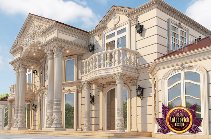 Live in Style and Luxury with Our Huge Exterior Designs by Luxury Antonovich Design