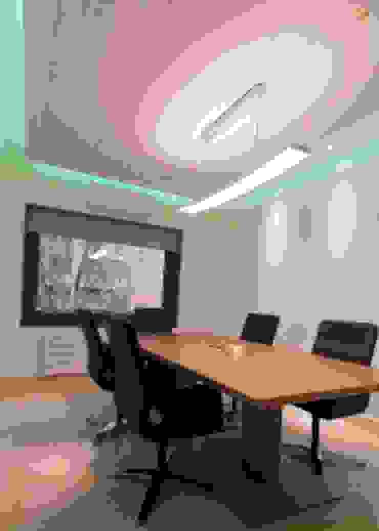 Bureau moderne par Domonova Soluciones Tecnológicas para tu vivienda en Madrid Moderne