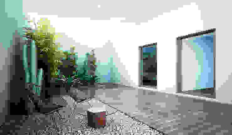 S-AART Minimalistischer Garten