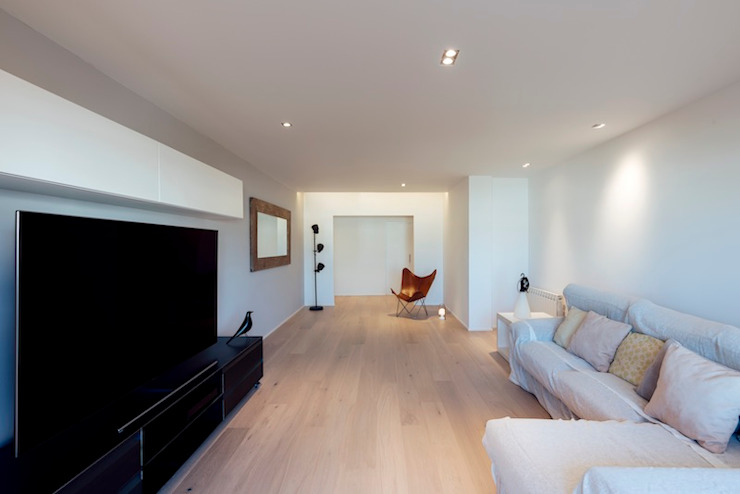 Studioapart Interior & Product design Barcelona Living room Wood