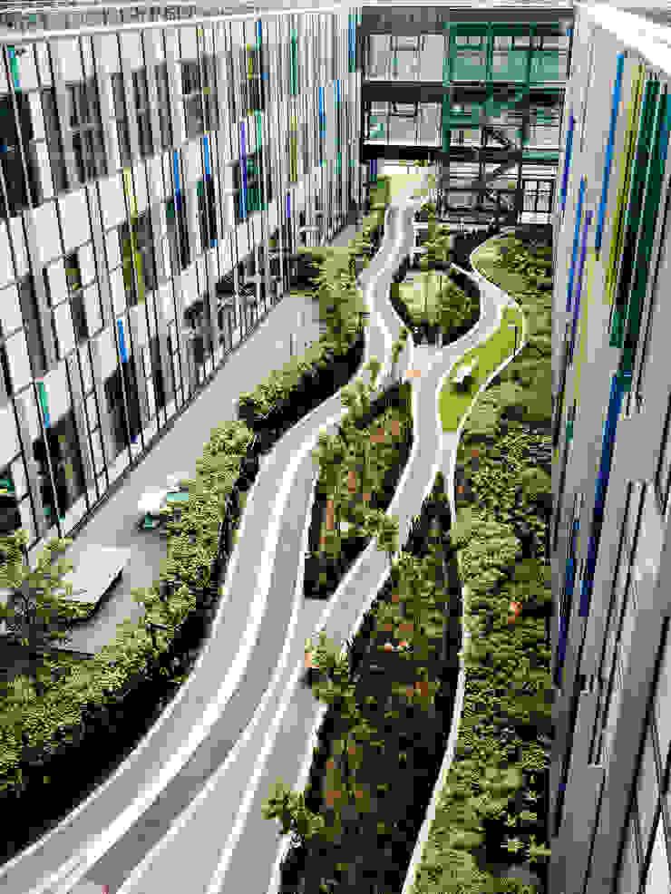 Gartenfinger Moderne Krankenhäuser von Albert Wimmer ZT GmbH Modern
