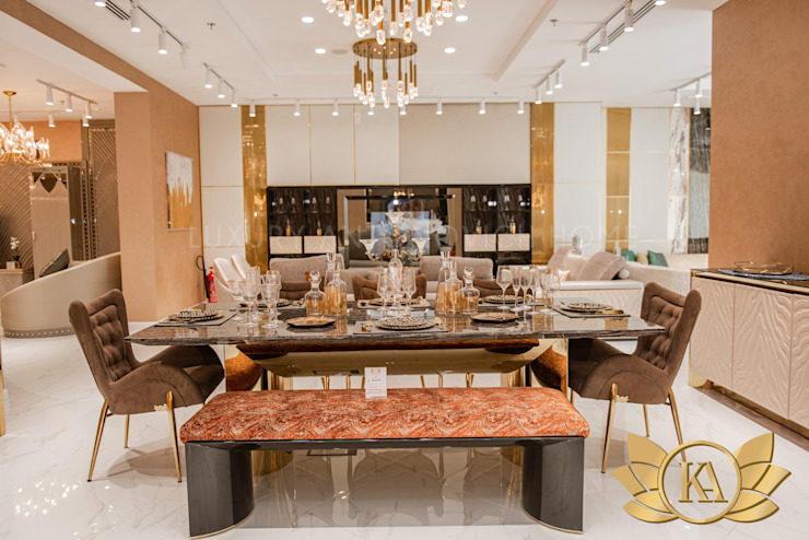 KA Furniture and its Beautiful Furniture Designs by Luxury Antonovich Design