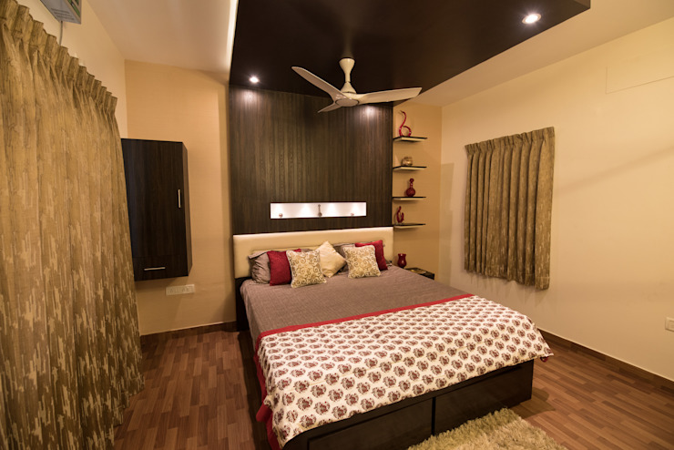 Stylish Bedroom by Aikaa Designs Modern style bedroom by Aikaa Designs Modern