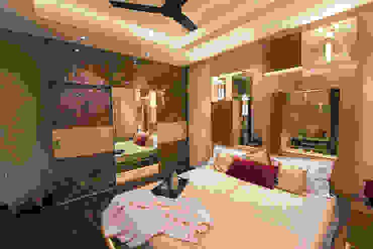 Modern Master Bedroom by Aikaa Designs Modern style bedroom by Aikaa Designs Modern