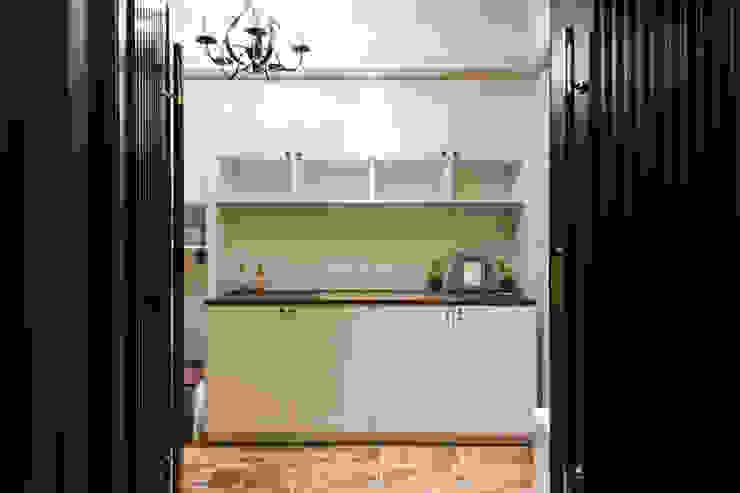 日光綠景 乡村风格的走廊,走廊和楼梯 根據 松泰室內裝修設計工程有限公司 鄉村風 木頭 Wood effect