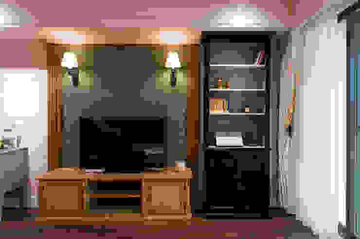 日光綠景 根據 松泰室內裝修設計工程有限公司 鄉村風 實木 Multicolored