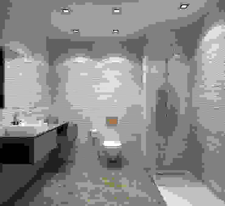 Banheiros modernos por ms mimarlık Moderno