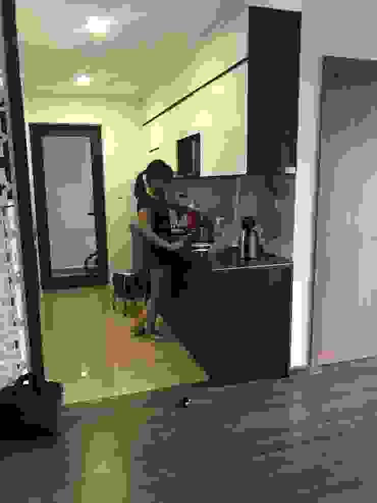 Tính ưu việt của tủ bếp acrylic so với dòng tủ bếp bằng gỗ tự nhiên bởi Nội thất Nguyễn Kim