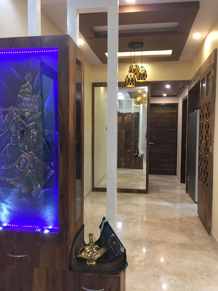Mr. & Mrs. Nair House Project Asian style dining room by Six Elms Interiors Asian