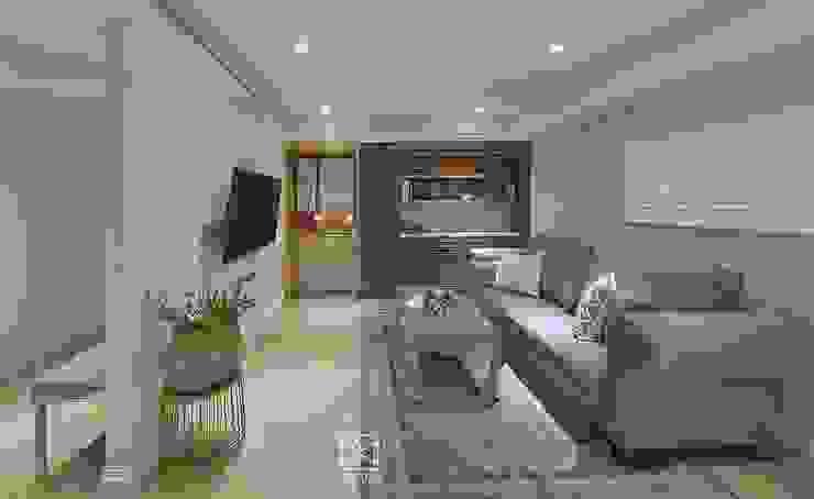 Salon classique par 禾廊室內設計 Classique