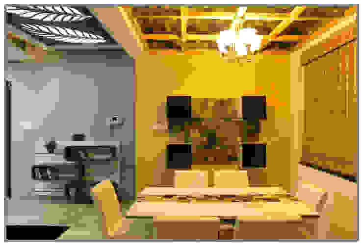 Modern dining room by AARAYISHH (Mumbai & Pune) Modern