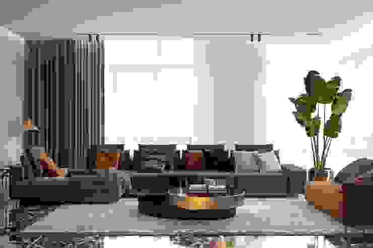 Livings de estilo ecléctico de U-Style design studio Ecléctico