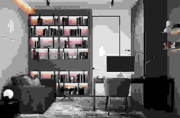 Oficinas y bibliotecas de estilo ecléctico de U-Style design studio Ecléctico