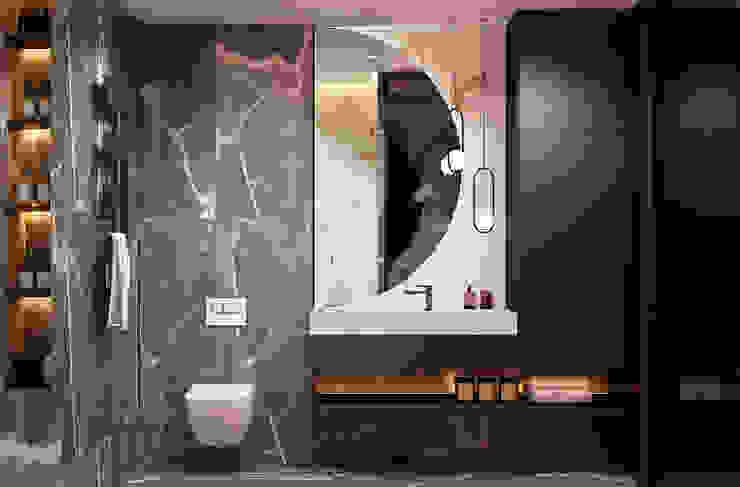 Baños de estilo ecléctico de U-Style design studio Ecléctico